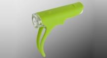Světlo přední CROPS ANT-SX1 SILIC 18 LUX zelená
