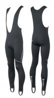 Kalhoty FORCE Z68 se šráky bez vložky černé