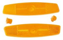 Odrazky Force do drátů 2ks oranžové
