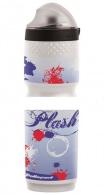 Termoláhev Polisport TERMO PLASH 500ml bílá/modrá