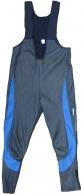 Kalhoty AXON Storm černá/modrá