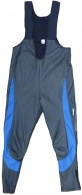 Kalhoty AXON Storm černá/modrá vel.XL