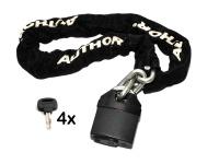 Zámek Author ACHL-65 8x900mm černá