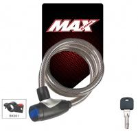 Zámek lankový spirálový Max 547E, 12x1200mm