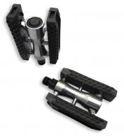 Pedály XLC-2 sport dural kuličkové, stříbrná/černá