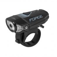 Světlo přední FORCE CASS 300LM USB černé