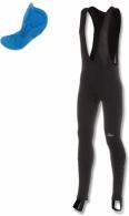 Kalhoty Rogelli VENASCA vel. 2XL černá zvýšená ochrana kolen a sedu