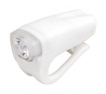Světlo přední PRO-T Plus 3 Watt LED,nabíjecí, Silicone - bílá