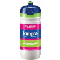 Láhev ELITE Corsa Lampre 0,55l bílá/modrá