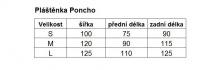 Pláštěnka HAVEN RAINCOAT PONCHO II fluo reflexní
