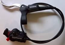 Brzda kotoučová Shimano DEORE přední komplet BR-M525 černá, 75cm