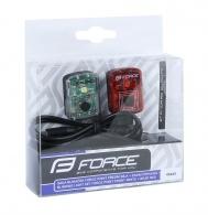 Blikačky - sada FORCE POINT USB přední+zadní