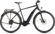 "Elektrokolo CUBE TOURING Hybrid ONE 500 28"" 2019 black´n´blue"