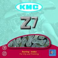 Řetěz KMC Z-7 sříbrno/šedý, BOX, balený