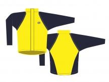 Bunda Author AS-8A Windout žlutá, vel.L, XL