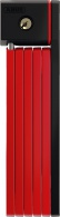 Zámek skládací ABUS BORDO uGrip 5700/80 červená - AKCE!