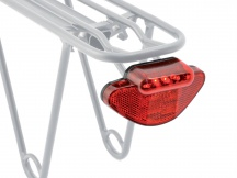 Světlo zadní Author A-Caddy 5 černá/červené-sklo