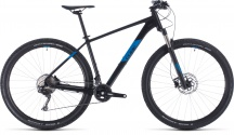 "Horské kolo 29"" CUBE Attention SL 2020 black´n´blue"