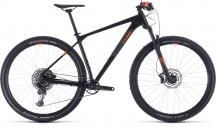 "Horské kolo 29"" CUBE REACTION RACE 2020 black'n'orange vel.21"""