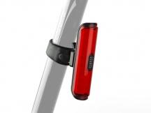 Světlo zadní Author A-Pilot USB CobLed 50 lm černá/červené-sklo