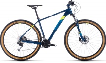 "Horské kolo 29"" CUBE AIM SL 2020 blueberry´n´flashyellow vel.21"""