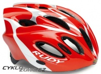 Přilba Rudy Project SNUGGY red/white/silver shiny S/M 52-58cm 2014