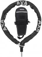 Zámek AXA RLC 100 Plug-in 100/5,5 black řetězový + Outdoor brašna
