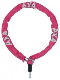 Zámek AXA RLC 100 Plug-in 100/5,5 pink řetězový