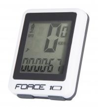 Počítač FORCE 10 funkcí drátový, bílý