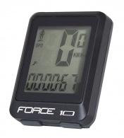 Počítač FORCE 10 funkcí drátový, černý