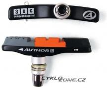 Brzdové botky Author ABS-3CC Alu výměnné catridge