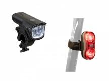 Světlo sada Author Xray 150 lm / Duplex X7  20lm, černá
