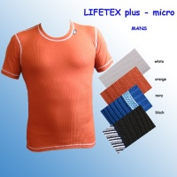 Termoprádlo LIFETEX plus - triko krátký rukáv- man