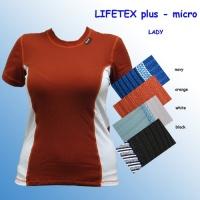 Termoprádlo LIFETEX plus - triko krátký rukáv- Lady