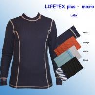 Termoprádlo LIFETEX plus - triko dlouhý rukáv- Lady