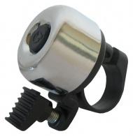 Zvonek Force MINI Fe/plast 22,2mm paličkový, stříbrný