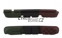 Brzdové gumičky PRO-T Plus Cartridge třísměsové Army