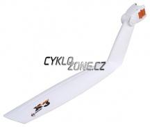 "Blatník SKS X-TRA-DRY 26"" zadní, bílý"