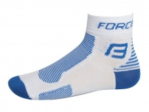 Ponožky FORCE 1 bílo-modré