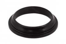 Spodní kroužek řízení na vidlici 27 mm Fe, černý