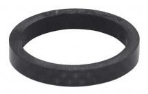 """Podložka 1 1/8"""" AHEAD 5 mm carbon černá"""