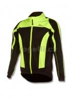 Membránová bunda Rogelli UZZANO černá/reflexní žlutá vel.XXL
