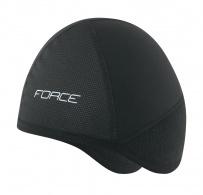 Čepice pod přilbu FORCE zimní,černá