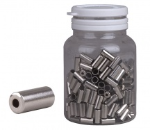 Koncovka bowdenu brzdového PRO-T 5mm stříbrná CNC